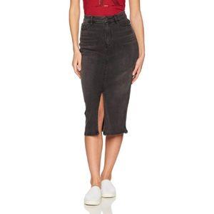 Calvin Klein Jeans High Waist Black Pencil Skirt